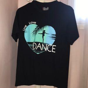 DANCE black t-shirt!